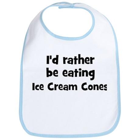 Rather be eating Ice Cream C Bib