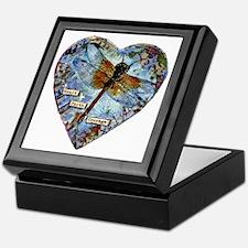 heart faith courage Keepsake Box