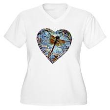 heart faith coura T-Shirt