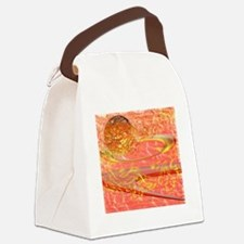 Star flame Canvas Lunch Bag