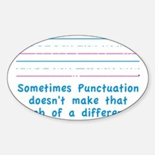Punctuation Decal