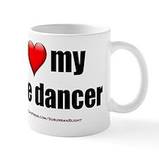 I Love My Pole Dancer lightapparel Small Mug