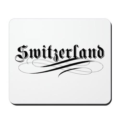 Switzerland Gothic Mousepad