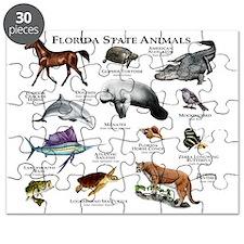 Florida State Animals Puzzle
