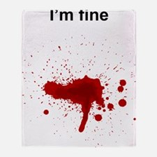 Blood Throw Blanket