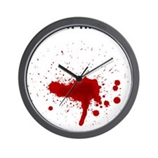 Blood Wall Clock