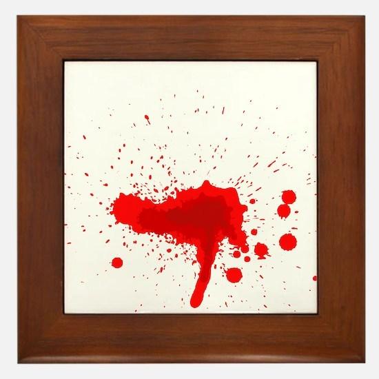 Blood Framed Tile