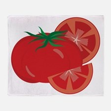Tomato Throw Blanket