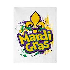 Mardi Gras Design D Twin Duvet