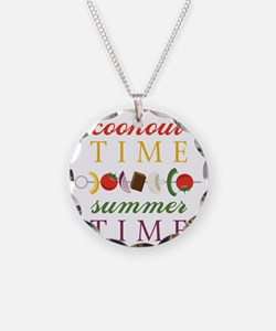 Cookout Time Necklace