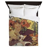 Vintage advertising Duvet Covers