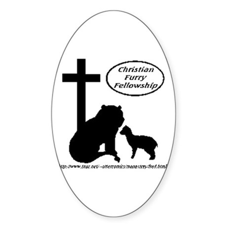 CFF Oval Sticker