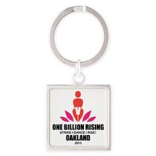 OBR Oakland Square Keychain