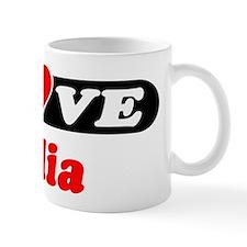 I Love Celia Mug