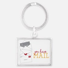 You Have Mail Landscape Keychain