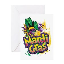 Mardi Gras Design C Greeting Card