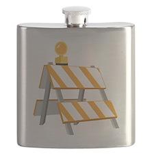 Construction Barrier Flask