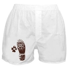 Hike with friends Sticker Boxer Shorts