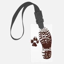 Hike with friends Sticker Luggage Tag