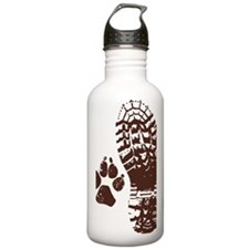 Hiking Boot n Paw Stic Water Bottle