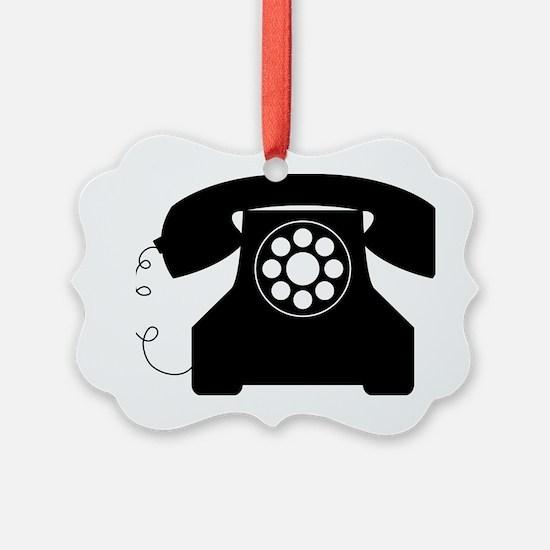 Telephone Ornament