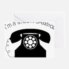 I'm a Smooth Operator Greeting Card