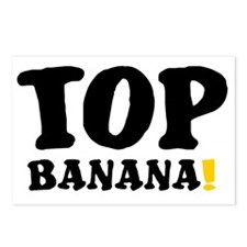 TOP BANANA! Postcards (Package of 8)