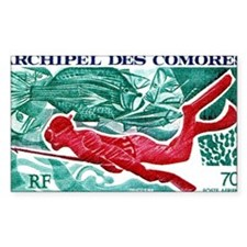 1972 Comoro Skin Diver Spearfi Decal