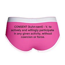 consent Women's Boy Brief