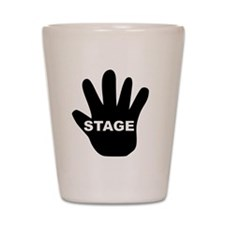 Stage Hand Shot Glass