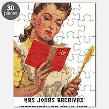 Mrs Jones Receives Her Instructions Puzzle
