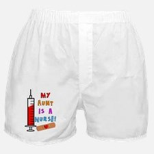 My aunt is a nurse Boxer Shorts