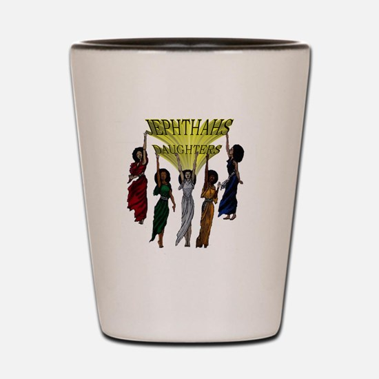 Jephthas Daughters Shot Glass