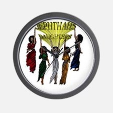 Jephthas Daughters Wall Clock