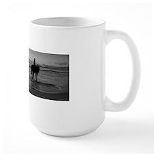 Horses in white Mug