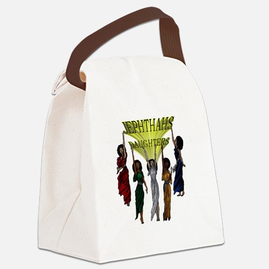 Jephthas Daughters Canvas Lunch Bag