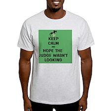 Funny Keep Calm Horse Show T-Shirt