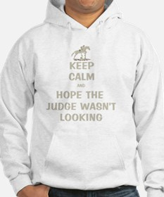 Funny Keep Calm Horse Show Hoodie
