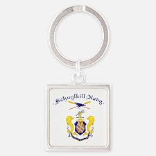 Crest of Schuylkill Navy Square Keychain