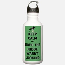 Funny Keep Calm Horse  Water Bottle