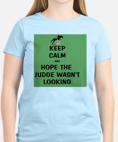 Funny Keep Calm Horse Show T-Shirt