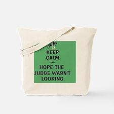 Funny Keep Calm Horse Show Tote Bag