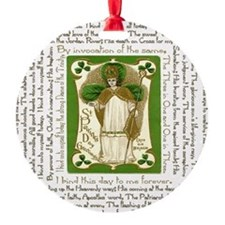 St. Patricks Breastplate Square Ornament