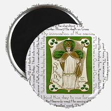 St. Patricks Breastplate Square Magnet