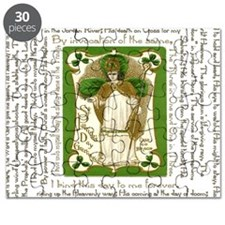 St. Patricks Breastplate Square Puzzle