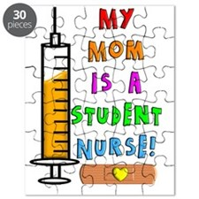 My mom is a student nurse Puzzle