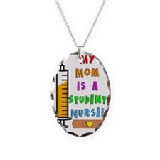 My mom is a student nurse Necklace