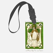 St. Patricks Breastplate Luggage Tag