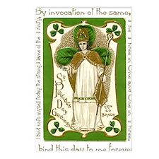 St. Patricks Breastplate  Postcards (Package of 8)
