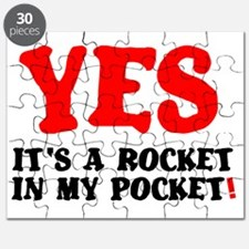 YES - ITS A ROCKET IN MY POCKET! Puzzle